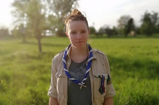 Portrait vom Ansprechpartner, für das Sommerlager, Tonda.